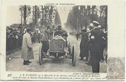 JB WARDEM Sur Sa Mercédès De 60 Cv - Gros Plan - GRAND PRIX PARIS-MADRID 1903 - Motorsport