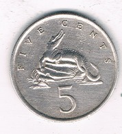 5 CENTS 1969 JAMAICA /0145/ - Jamaica