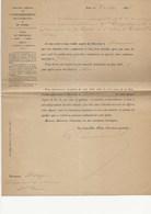 DIRECTION GENERALE DE L'ENREGISTREMENT DES DOMAINES ET DU TIMBRE -NOMINATION DU POSTE RECEVEUR A ESTREES ST DENIS -1895 - Décrets & Lois