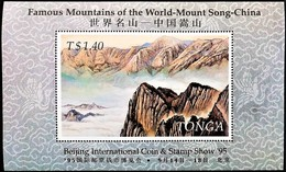 # Tonga 1995**Mi.1385  International Coin And Stamp Exhibition BEIJING '95 , MNH  [19;175] - Künste