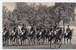 MILITARIA 331 : Carte Photo ; Les écuyers Du Cadre Noir ( Peut être De Saumur ) - Reggimenti