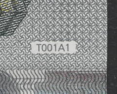 T IRELAND  5 EURO TC T001 A1  DRAGHI  UNC - 5 Euro