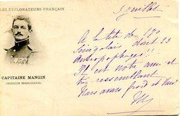 CONGO(MILITAIRE) CAPITAINE MANGIN(MISSION MARCHAND) - Congo - Brazzaville