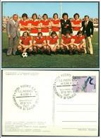 CARTOLINA - CV1499 CALCIO PIACENZA FC 1974-75  Cartolina FG Con Annullo Campionato Serie B, Non Viaggiata - Piacenza
