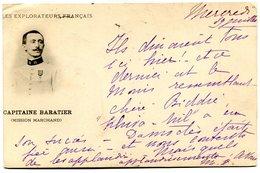 CONGO(MILITAIRE) CAPITAINE BARATIER(MISSION MARCHAND) - Congo - Brazzaville