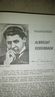 KWARTIERSTAAT ALBRECHT RODENBACH - Vieux Papiers