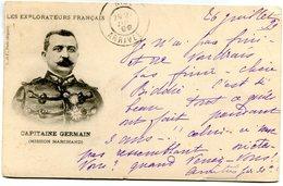 CONGO(MILITAIRE) CAPITAINE GERMAIN(MISSION MARCHAND) - Congo - Brazzaville