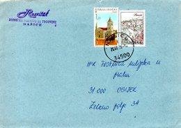CROATIE. N°333 De 1995 Sur Enveloppe Ayant Circulé. Drnis. - Kroatien