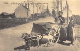 Sully-sur-Loire - Les Voitures à Chien - Marchande De Charbon - Cecodi N'1222 - Sully Sur Loire