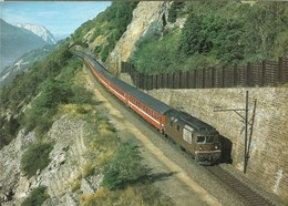 """2157 """"CONVOGLIO DELLE FERROVIE SVIZZERE """" ORIGINALE - Treni"""