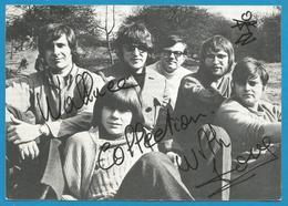 (A988) - Signature / Dédicace / Autographe Original - WALLACE COLLECTION - Groupe Pop Belge - Autographes