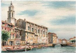 G.A. DUMARAIS - LES MARTIGUES - Le Canal St Sébastien   (110925) - Ilustradores & Fotógrafos