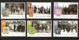 Île De Man 2010 Yvertn° 1638-1643 *** MNH   Cote 20 Euro Centenaire De L' Accession Du Roi George V - Man (Ile De)