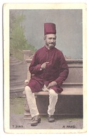 A PARSI (colorised, D. Macropolo, Calcutta) - India