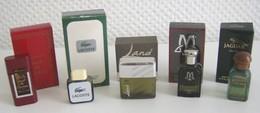 Lot De 16 Miniatures De Parfum Pour Hommes - Miniatures Modernes (à Partir De 1961)