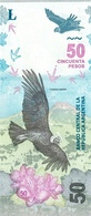 Argentina P. New  50 Pesos 2018  Unc - Argentine
