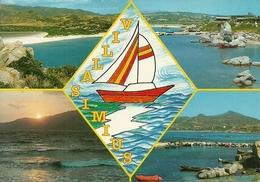 Villasimius (Cagliari) Vedute E Scorci Panoramici, Views, Vues - Cagliari