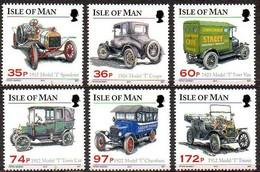 Île De Man 2010 Yvertn° 1644-1649 *** MNH   Cote 19,00 Euro Voitures Autos Cars Ford - Man (Ile De)