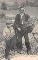 Andorre / 02 - Grand Père Et Petits Enfants - Types D' Andorrans - Andorre