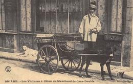 Briare - Les Voitures à Chien Du Marchand De Gras-Double - Cecodi N'1180 - Briare