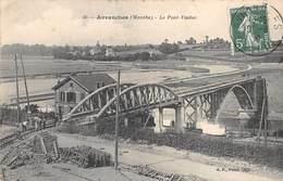 A-19-568 : AVRANCHES. LE PONT VIADUC DU CHEMIN DE FER - Avranches