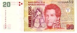 Argentina P.355 20 Pesos 2012  D  Unc - Argentina