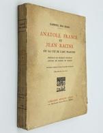 Anatole France Et Jean Racine / Gabriel Des Hons. - Paris : Armand Colin, 1927 - Books, Magazines, Comics