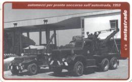 *ITALIA: VIACARD - AUTOMEZZI PER PRONTO SOCCORSO SULL'AUTOSTRADA - 1959 (L. 20000)* - Usata - Non Classificati