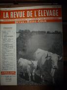 1958 LRDLE  :En Vendée; Au Danemark; Les Fourrages; Moutons En Angleterre; Le Mérinos; Etc - Animals