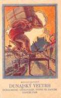Slovaquie / 03 - Carte Illustrée - Medzinarodny - Défaut - état - Décollée - Slovaquie