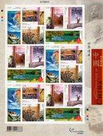 Hong Kong - 2003 - World Heritage In China - Mint Miniature Stamp Sheet - 1997-... Chinese Admnistrative Region