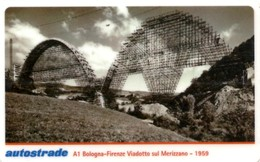 *ITALIA: VIACARD - A1 BOLOGNA - FIRENZE - VIADOTTO SUL MERIZZANO - 1959 (L. 50000)* - Usata - Non Classificati