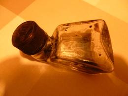 Flacon Verre Horizontal Encre Pélican Avec Bouchon Et Numéro Sur Le Verre : 72S - Encriers