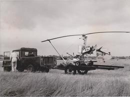 Bensen B 8 Mej Agricopter Sgricultural Gyroplane   21 * 16 CM Aviation, AIRPLAIN, AVION AIRCRAFT - Aviación