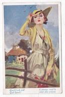 Carte Postale L' Absence Rend Le Coeur Plus Aimant - Illustratori & Fotografie