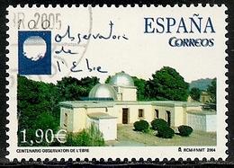 2004-ED. 4126-SERIE COMPLETA- I CENTENARIO OBSERVATORIO DEL EBRO-USADO - 1931-Today: 2nd Rep - ... Juan Carlos I