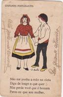 POSTCARD PORTUGAL - COSTUMES PORTUGUEZES - Portugal