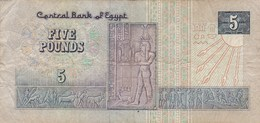 Egypte - Billet De 5 Pounds - Egypte