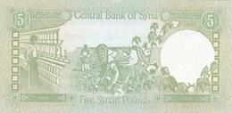 Syrie - Billet De 5 Pounds - 1991 - Neuf - Syrie