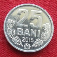 Moldova 25 Bani 2015 Moldavia Moldavie - Moldova