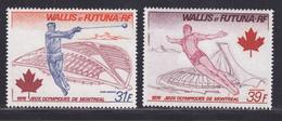 WALLIS ET FUTUNA AERIENS N°   72 & 73 ** MNH Neufs Sans Charnière, TB (D8130) Jeux Olympiques De Montréal - 1976 - Poste Aérienne