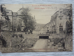 CP- Altwies-Gare (Luxembourg) Environs De Mondorf-les-Bains, 1919 - Mondorf-les-Bains