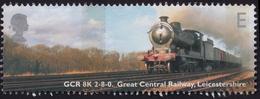 "GB 2004 ""E"" Locomotives, E, GCR 8K 2-8-0. Sc#2174 - USED @U004 - Used Stamps"