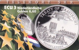 Denmark, P 148, Ecu - Netherlands, Mint, Only 700 Issued, 2 Scans.  Please Read - Dänemark