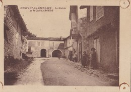MONTAUT LES CRENEAUX - La Mairie Et Le Café Laborde - France