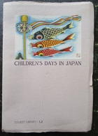 Japon Japan Children's Days In Japan Tokyo 1936 - Libros Antiguos Y De Colección