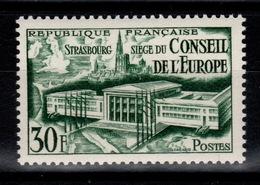 YV 923 N** Conseil De L'Europe Cote 9 Euros - France