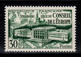 YV 923 N** Conseil De L'Europe Cote 9 Euros - Francia