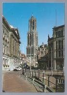 NL.- UTRECHT. Domtoren. Stadhuis Met Stadhuisbrug. Old Car. - Kerken En Kathedralen