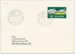 314 Auf Brief Mit K-Stempel K80 - NESSLAU (TOGGENBURG) Kanton St. Gallen - Marcophilie